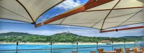 free summer season nature facebook cover