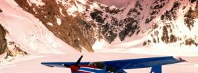 free airplane mountains nature facebook cover