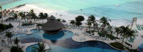 free resort beach nature facebook cover