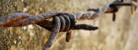 free rust wires nature facebook cover