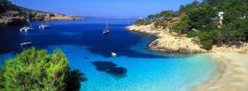 free pure paradise nature facebook cover