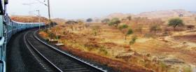 free train in the country facebook cover