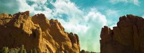 free rock mountain sky nature facebook cover