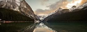 free white alps forest nature facebook cover