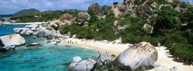 free virgin gorda baths beach facebook cover