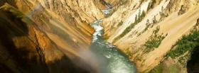 free water and canyon nature facebook cover