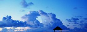 free sky and dock nature facebook cover