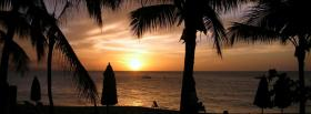 free sundown nature facebook cover