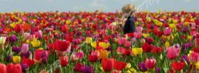 free walk in garden nature facebook cover