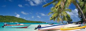 free tobago beach nature facebook cover