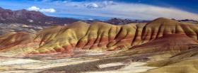 free painted hills oregon nature facebook cover
