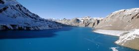 free tilicho lake nature facebook cover