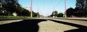 free street trees nature facebook cover