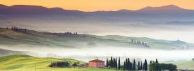 free smog in mountains nature facebook cover