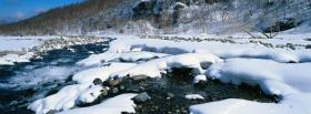 free winter white snow nature facebook cover