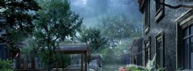 free rain and nature facebook cover