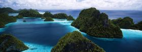 free rajat ampat island nature facebook cover