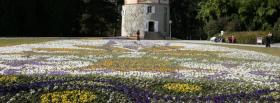 free spring garden nature facebook cover