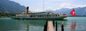 free switzerland boat nature facebook cover