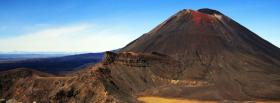 free volcano nature facebook cover