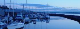 free small boats nature facebook cover