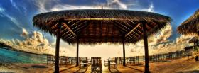 free summer resort nature facebook cover