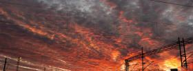 free sky sunset nature facebook cover