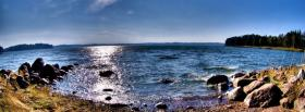 free wide waters nature facebook cover