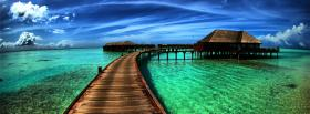free passage on ocean nature facebook cover
