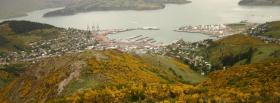 free small harbour nature facebook cover