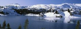 free yosemite winter nature facebook cover