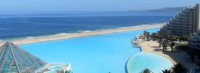 free pretty resort beach nature facebook cover