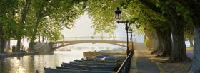 free trees and boats nature facebook cover