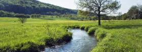 free water trail nature facebook cover