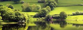 free spring time forest nature facebook cover