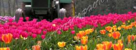 free tractor garden nature facebook cover