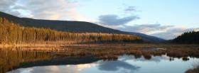 free vaste lake nature facebook cover
