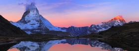 free swiss alps nature facebook cover