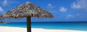 free umbrella beach nature facebook cover