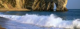 free waves nature facebook cover