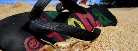 free sandal sand nature facebook cover
