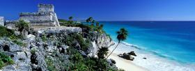 free old rocks and ocean facebook cover