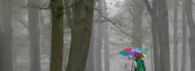 free walking in the forest facebook cover
