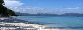 free ocean shore nature facebook cover