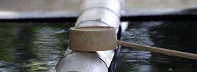 free water metal nature facebook cover