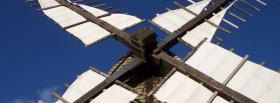 free windmill sky nature facebook cover