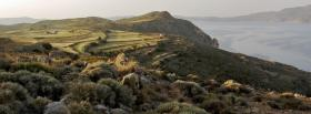 free aegean sea nature facebook cover