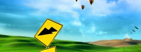 free yellow pyramid sign nature facebook cover