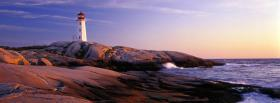 free water and light house facebook cover