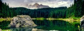 free rock pines nature facebook cover